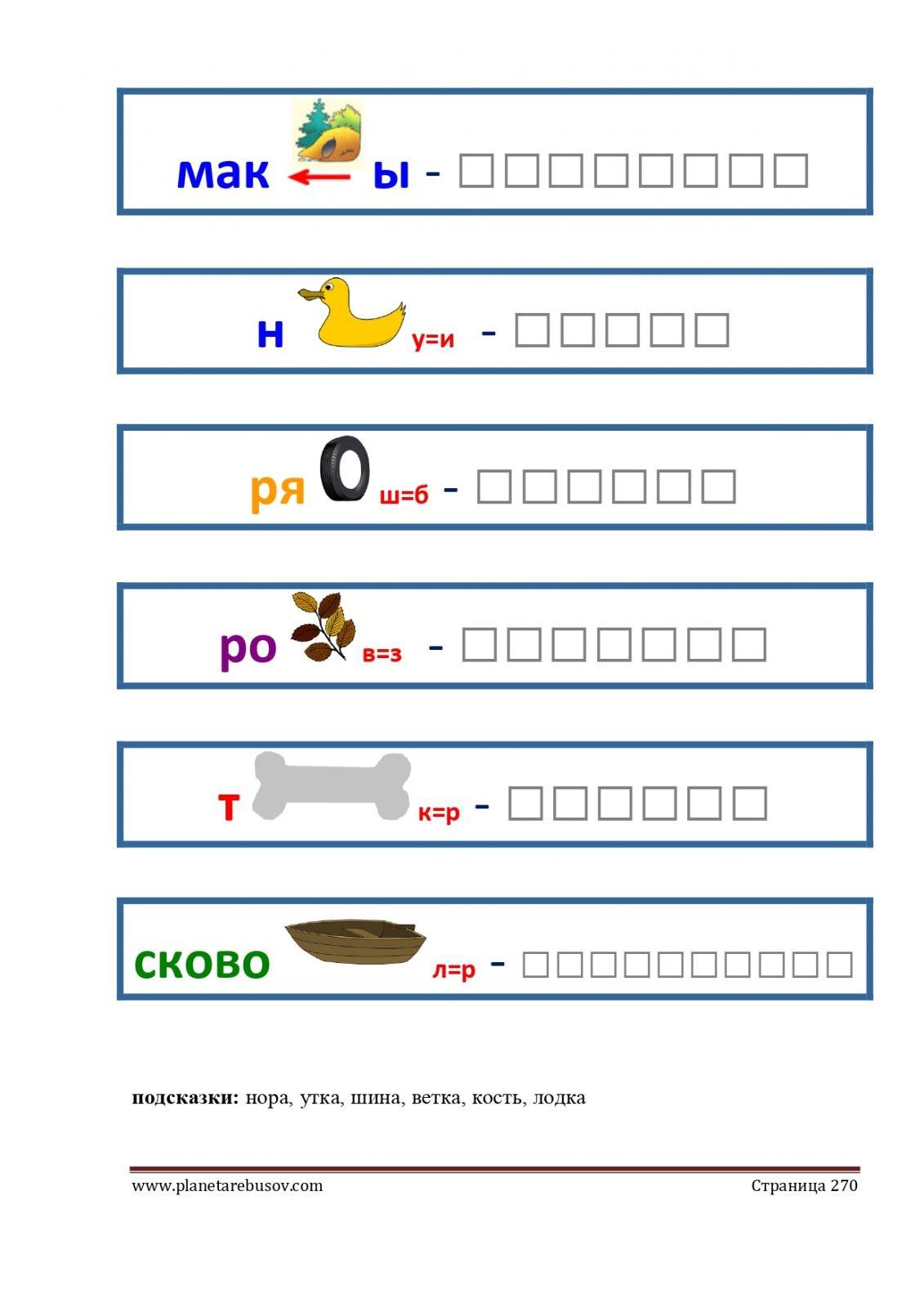 Ребусы: макароны, нитка, рябина, розетка, трость, сковородка